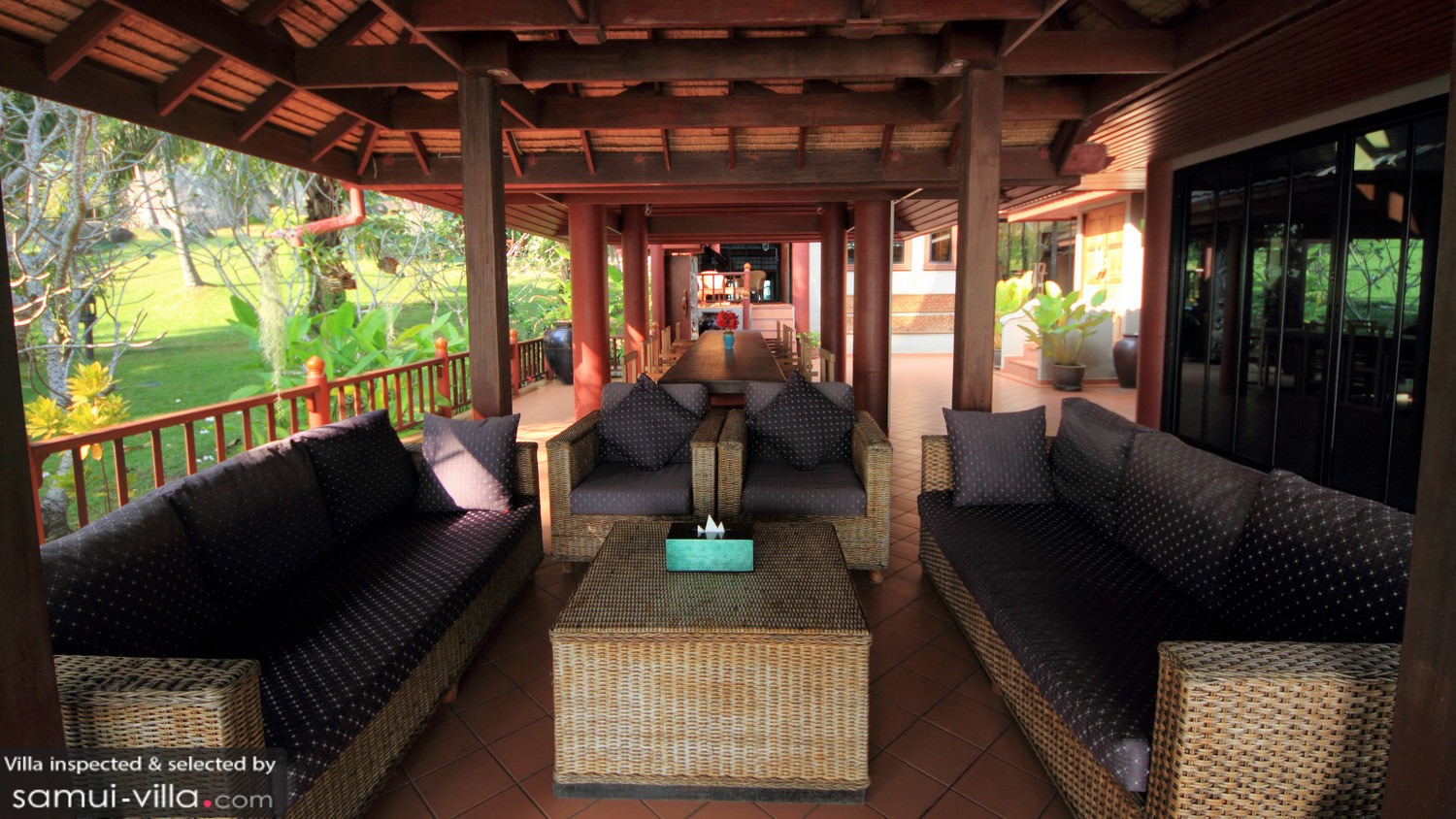 Classic Villa in Bang Kao beach, Koh Samui - 3 bedrooms